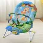 Baby Rocker Bouncer Reclining Chair Music Melodies Soothing Vibration Toys New