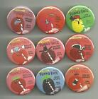 Funny Face Drink Mix 1.5 inch Pins / Buttons Set