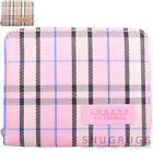 Ladies / Womens / Girls Bi-Fold Tartan Check Money / Coin Holder / Purse