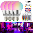LED16Color Changing Light Bulb Remote Control10W E27 RGB Dimmable for Decoration