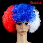 Russia World Cup 2018 Football Fans Hat Wig National Flag Color Cap Party ZT5P