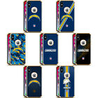NFL LOS ANGELES CHARGERS LOGO GOLD SHOCKPROOF FENDER CASE FOR iPHONE SAMSUNG LG