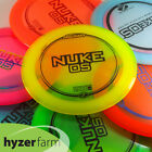 Discraft Z NUKE OS *choose your color and weight* Hyzer Farm disc golf driver