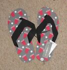 NWT Novelty Icon Flip Flops by Bioworld; Assorted Sizes & Styles