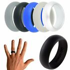 Kyпить 5X Silicone Wedding Engagement Ring Men Women Rubber Band Outdoor Sport Flexible на еВаy.соm