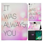 For iPad Mini/Air/6th 9.7 2018 Smart Flip Magnetic Leather Case Card Slots Cover