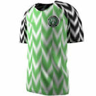 Football Shirts NIGERIA World Cup 2018 Jersey Home Green Loose Casual Shirt