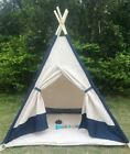 Teepee Play Tent -  Children's Wigwam - Kids Play Tent    Various Styles/Colours