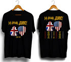Def Leppard with Journey North American Tour 2018 black T shirt image
