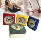 Non-ticking Travel Alarm Clock Small Silent Clock with Snooze Night Light 2.4