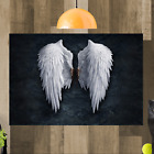 Angel Wings Banksy Canvas Wall Art Picture A4 A3 A2 A1 Print Ready To Hang