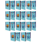 FC BARCELONA 2017/18 AWAY KIT 1 LEATHER BOOK CASE FOR SAMSUNG GALAXY TABLETS