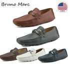 BRUNO MARC NEW YORK Mens Faux Leather Driving Penny Loafers Boat Shoes