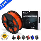 3D PETG Printer Filament 1.75mm 1KG/2.2LB Spool Orange PET 3D Printer Consumable