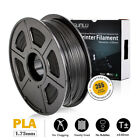 SUNLU PLA 3D Printer Filament 1.75mm 1KG/2.2lb Spool Black PLA