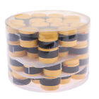 60pc Absorb Sweat Racquet Grip Tape Stretch Band for Tennis Squash Badminton