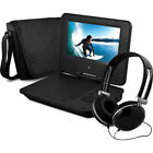 """7"""" Portable Personal DVD Player w/Headphones &Carry Case Kid Adult Ematic EPD707"""