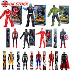 UK Avengers 3-1 Titan Hero Series Thanos Iron Spiderman Hulk Action Figures Toys