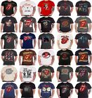 The Rolling Stones T Shirt band logo No Filter tongue tour Jagger Keith mens image