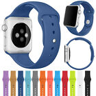 Silicone Sport Replacement Band Strap For Apple Watch Series 3 2 1 38mm/42mm US