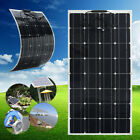 100W 18V Mono Solar Panel Semi-flexible Off-Grid Battery Charge For RV Boat