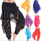Belly Dance Tribal Harem Pants Trousers Indian Bollywood Arabic Dancing Costume