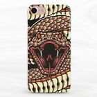 Fashion Snake Art Soft Silicone TPU Case Cover iPhone 7 8 Xs Max XR Plus 6s