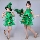 New Children's Christmas Costumes Tree Dresses Sequins Performance Clothing