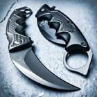 "8"" Spring Assisted Open Folding Pocket Knife Karambit Claw Combat Tactical New"