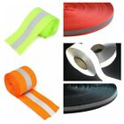 Внешний вид - 5M Florescent Reflective Safety Strip Tape Warning Ribbon Sewing On To Clothes