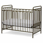 L.A. Baby Trinity Metal 3-in-1 Convertible Crib