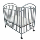L.A. Baby Classic Arched Compact Metal Portable Crib with Mattress <br/> Direct from Wayfair