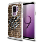 "For Samsung Galaxy S9 Plus / S9+ 6.2"" Hybrid Sparkle Bling Crystal Case Cover"