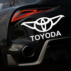 Toyoda Star Wars Yoda Toyota Parody Funny Car Sticker Decal Vinyl 4x4 20x10cm $4.39 CAD on eBay