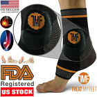 Best Copper Infused Compression Ankle Brace, Silicone Ankle Support Sleeve