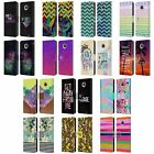 HEAD CASE DESIGNS TREND MIX LEATHER BOOK WALLET CASE COVER FOR MOTOROLA PHONES