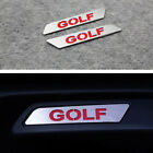2* Stainless steel Seat Lift Wrench Insert Sticker Badge For VW GOLF MK 5 6 GTI cheap