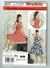 Simplicity # 8051 Dress with Bodice Variations Pattern  10-18 or 20W-28W UC