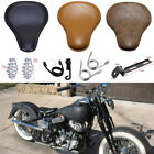 Motorbike Solo Driver Seat Classic For Harley Softail Dyna Fatboy Bobber Chopper