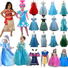Kids Girls Princess Dress Up Fancy Costume Party Cosplay Clothes Halloween Lot image