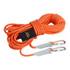 12KN 9.5mm Outdoor Rappelling Rock Climbing Rope Safety Rescue Auxiliary Cord US