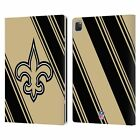 OFFICIAL NFL 2017/18 NEW ORLEANS SAINTS LEATHER BOOK WALLET CASE FOR APPLE iPAD