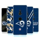 OFFICIAL NFL LOS ANGELES RAMS LOGO SOFT GEL CASE FOR SONY PHONES 1 $16.0 USD on eBay
