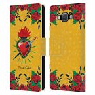 OFFICIAL FRIDA KAHLO ICONS LEATHER BOOK WALLET CASE COVER FOR SAMSUNG PHONES 2