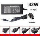 42W 14V 3A 6.5*4.4mm AC Power Supply Adapter for Samsung SyncMaster LCD Monitor