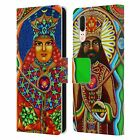 OFFICIAL CHRIS DYER PORTRAITS LEATHER BOOK WALLET CASE COVER FOR HUAWEI PHONES