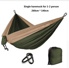 Hammock Parachute 2 Two Person 1 One Tent Swag Camping Hiking Lightweight Strong