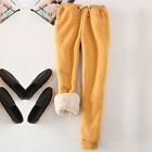 Women Thick Warm Winter Fleece Lined Thermal Stretchy Pants Trousers Sweatpants