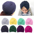Внешний вид - Kids Girls Baby Toddler Turban Knotted Headband Hair Band Accessories Headwear