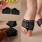 2PC Diamond Belly Ballet Dance Paws Toe Pad Practice Shoes Feet thong Dance Sock